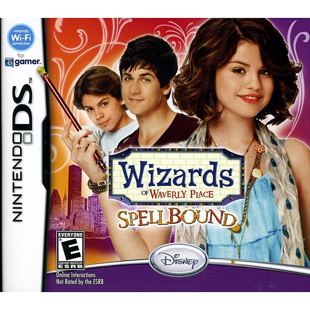 wizards of waverly place spellbound nintendo ds nintendo ds