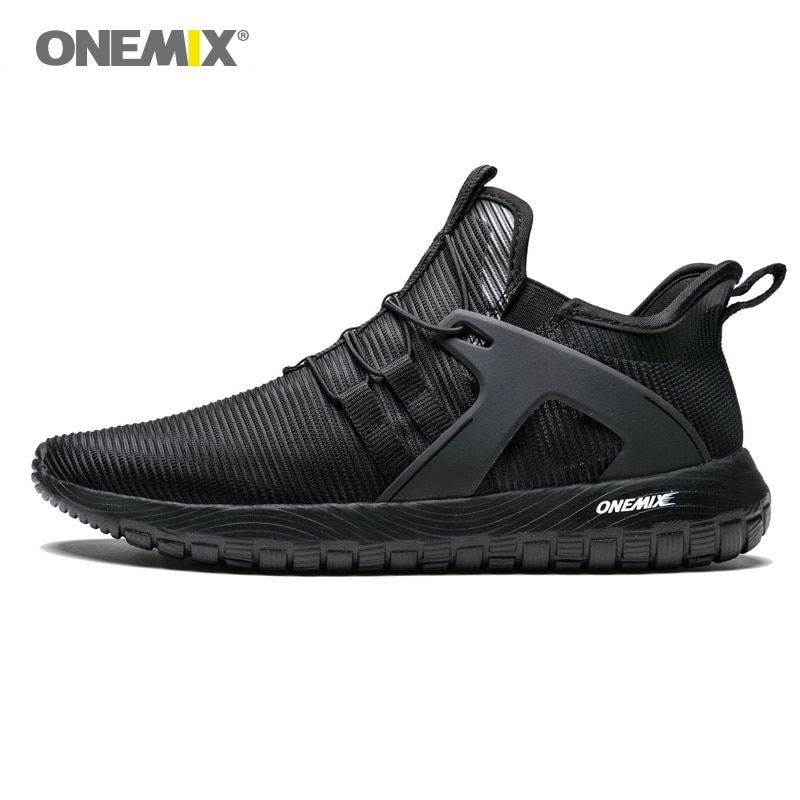 93ae72e6f319ab Onemix Men Running Shoes for Women Loafers Black Mesh Air Breathable  Designer Jogging Sneakers Outdoor Sport