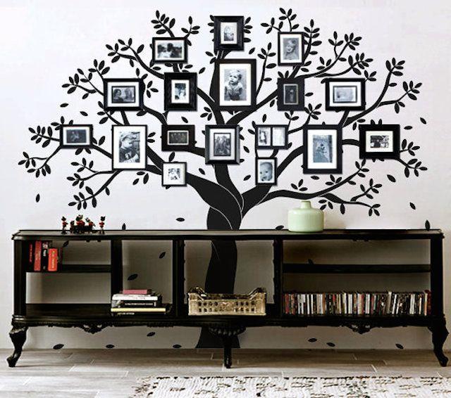 Family Tree In The Living Room 10 The Best Ideas Art De Mur D