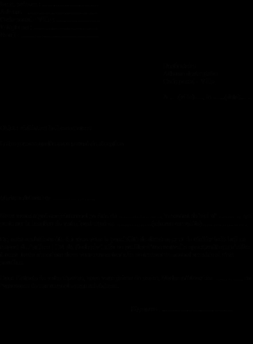 Modele De Lettre Du Locataire Pour Resilier Un Bail Commercial Actualites Informations Pratiques Modeles De Lettres Et D Graphic Poster Bail Swingers Clubs