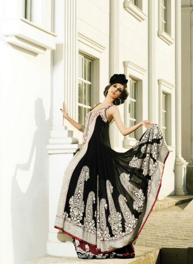 Long flowing asian dresses