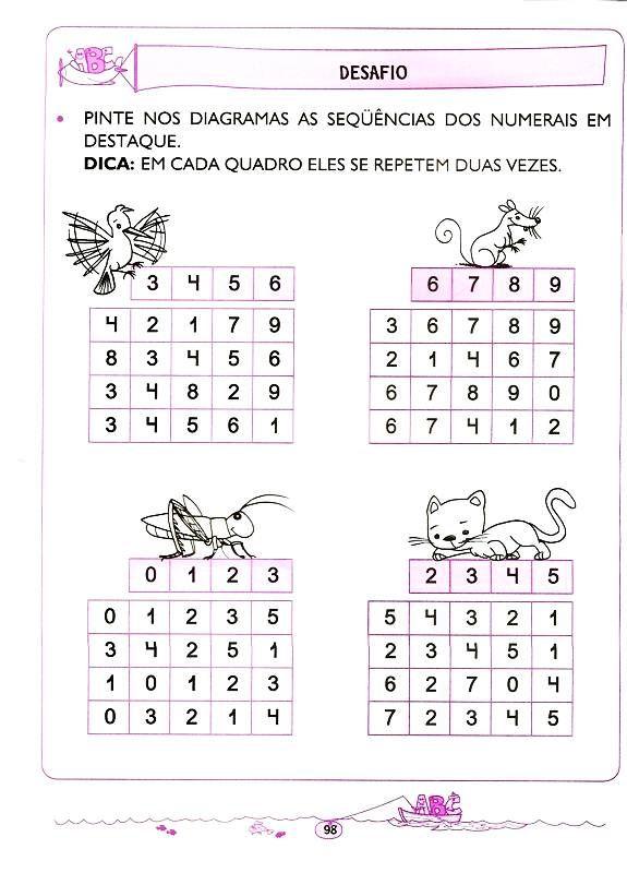Matematica 5 E 6 Anos 90 Com Imagens Atividades De