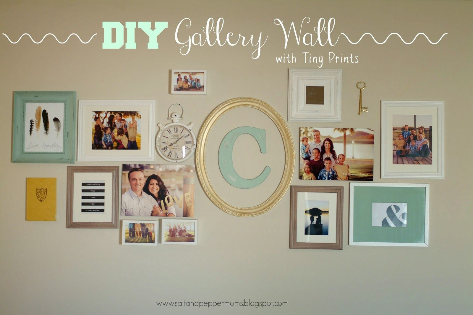 Diy gallery wall perfect rooms pinterest gallery wall