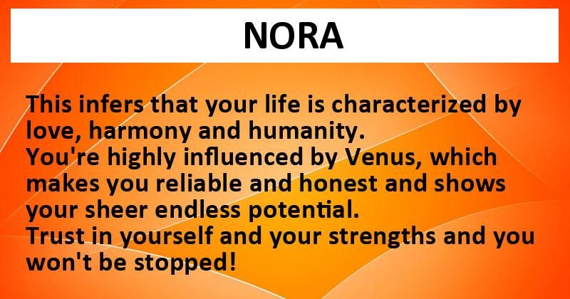 Discover what your name reveals about you!