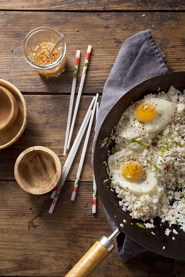 Garlic Fried Rice (Libbie Summers and Chia Chong for Salted and Styled)