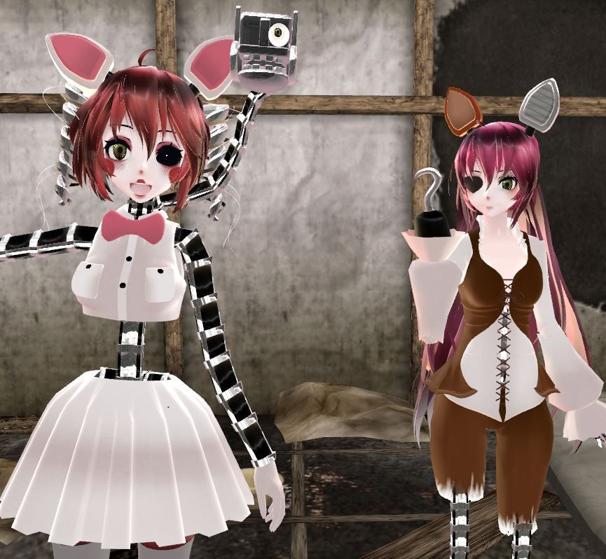 [MMD] FNaF Character Profiles: Foxy By SwirledCaramel On