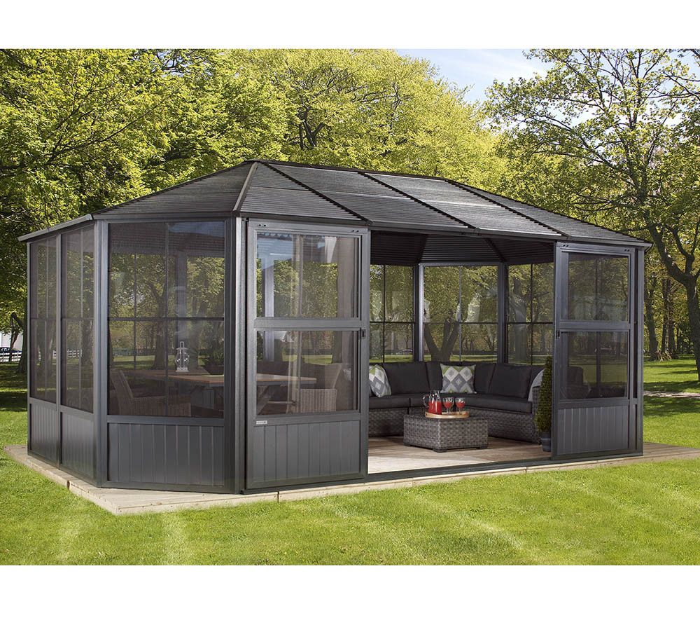 Sojag Aluminium Pavillon Wintergarten Amp Solarium
