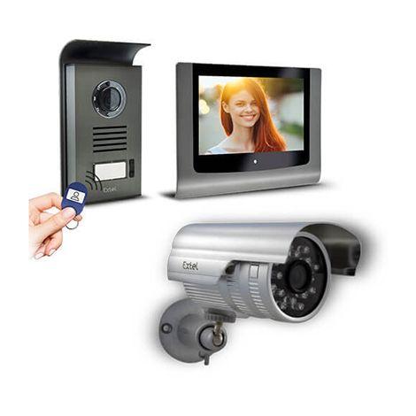 Visiophone Extel LEVO Access avec contrôle d'accès RFID intégré - Visiophone + caméra