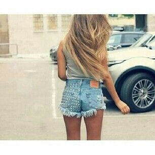 In shorts tumblr jean Girl