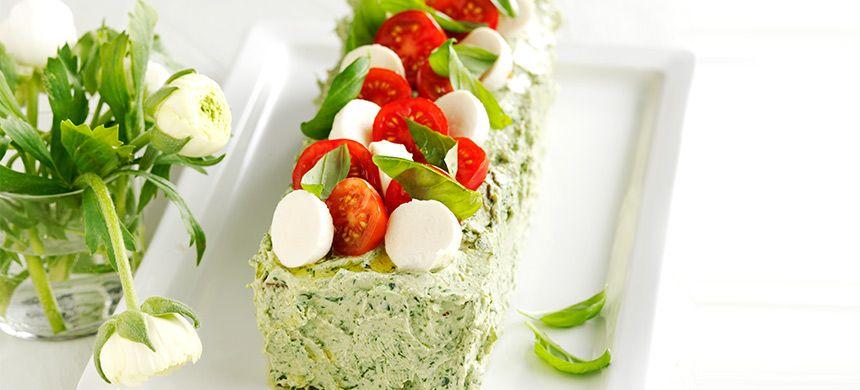 Real Kasvis-juustovoileipäkakku - Fazer