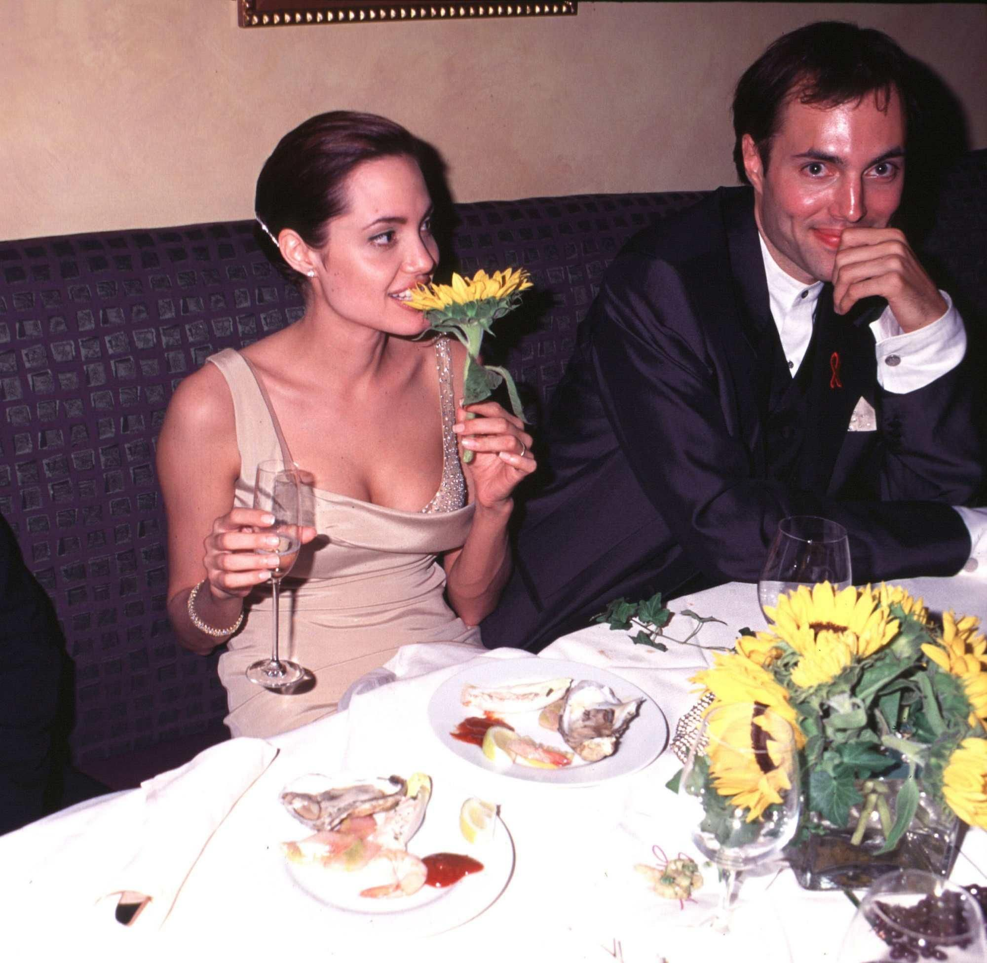 Angelina Jolie & her brother, James Haven - after/during \