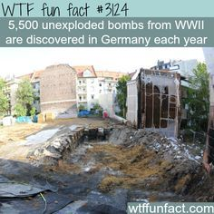 Unexploded Bombs From Ww In Germany Fun Facts
