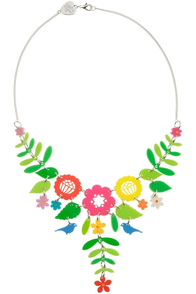 Mexican Floral Necklace