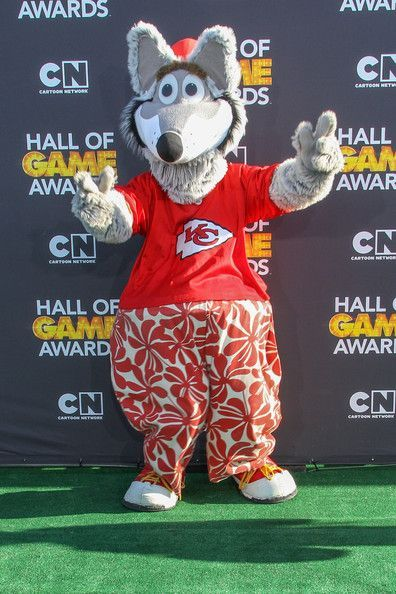 Kansas City Chiefs Mascot Kansas City Chiefs Mascot K C Wolf Mascots Kansas City Chiefs Football Kansas City Chiefs Chiefs Mascot