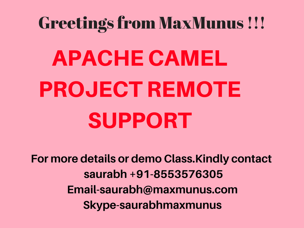 Apache Camel is a rule-based routing and mediation engine that