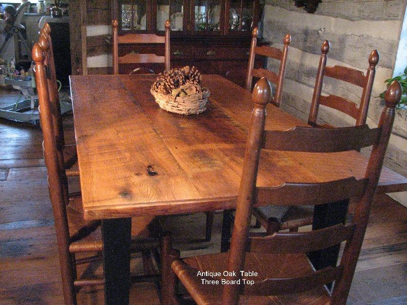 Reclaimed Oak Table With Extensions Oak Table Reclaimed Oak