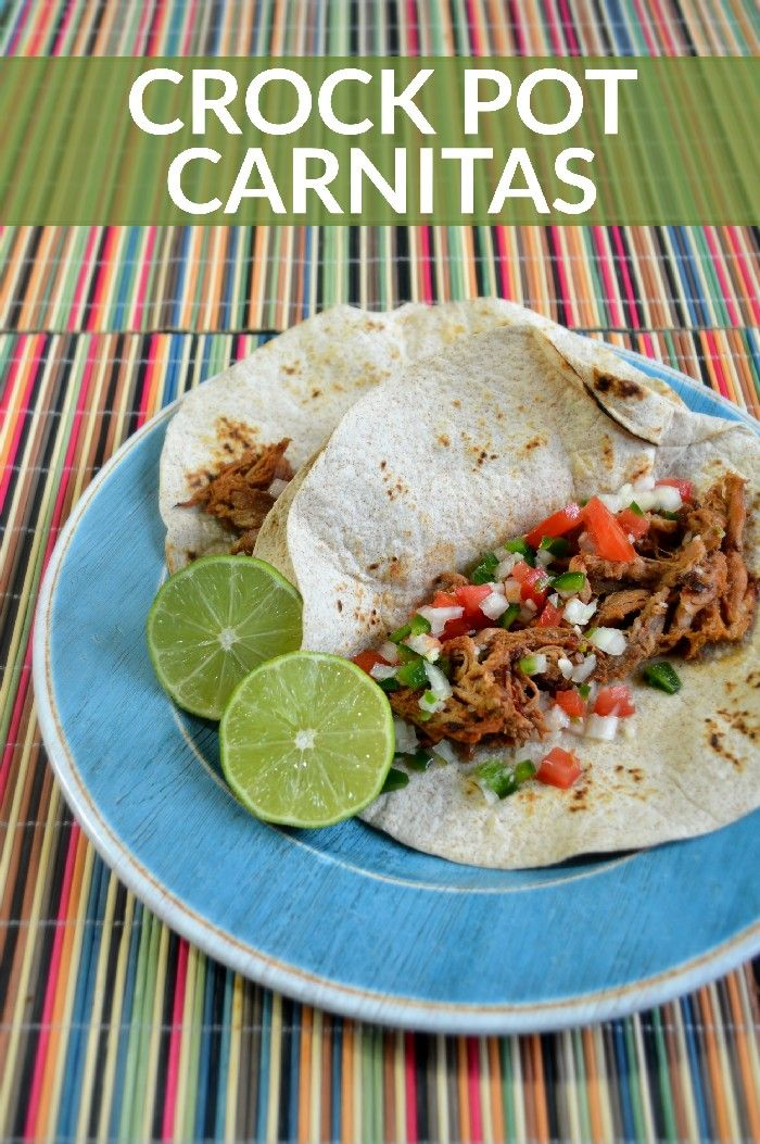 Crock Pot Carnitas | Recipe | Recipes To Try Out ...