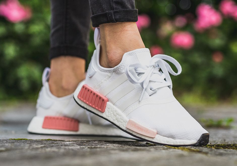 Adidas Originals NMD R1 Blancas Rosas BY9952