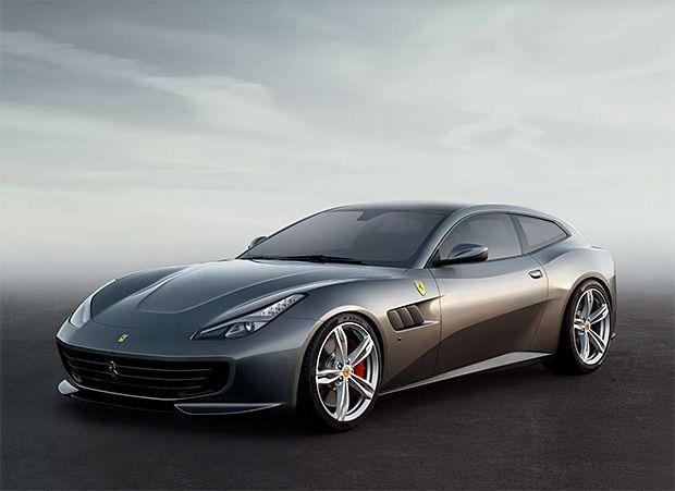Ferrari GTC4Lusso at werd.com
