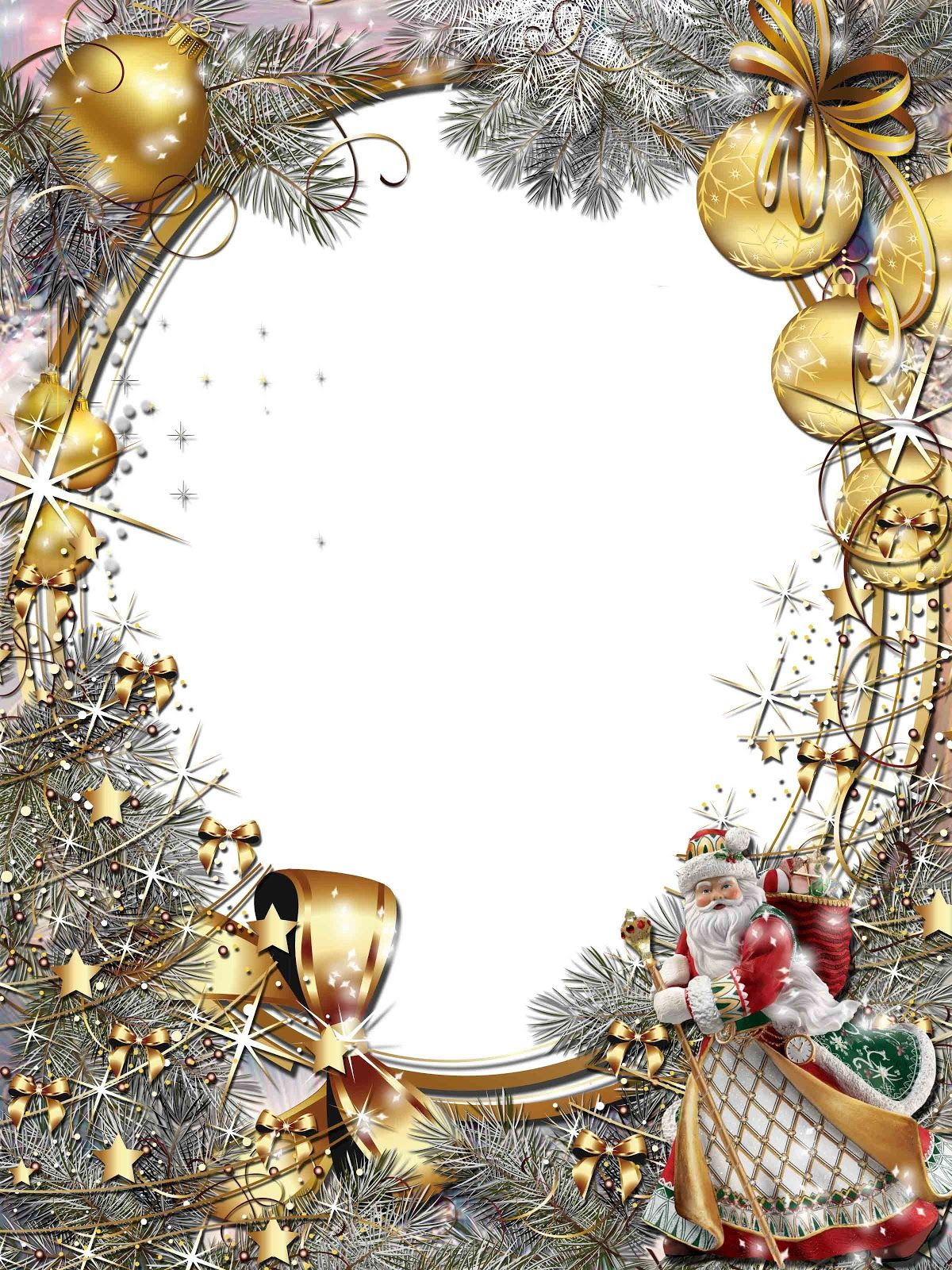 christmas frames | Christmas png frame | papiers déco | Pinterest ...