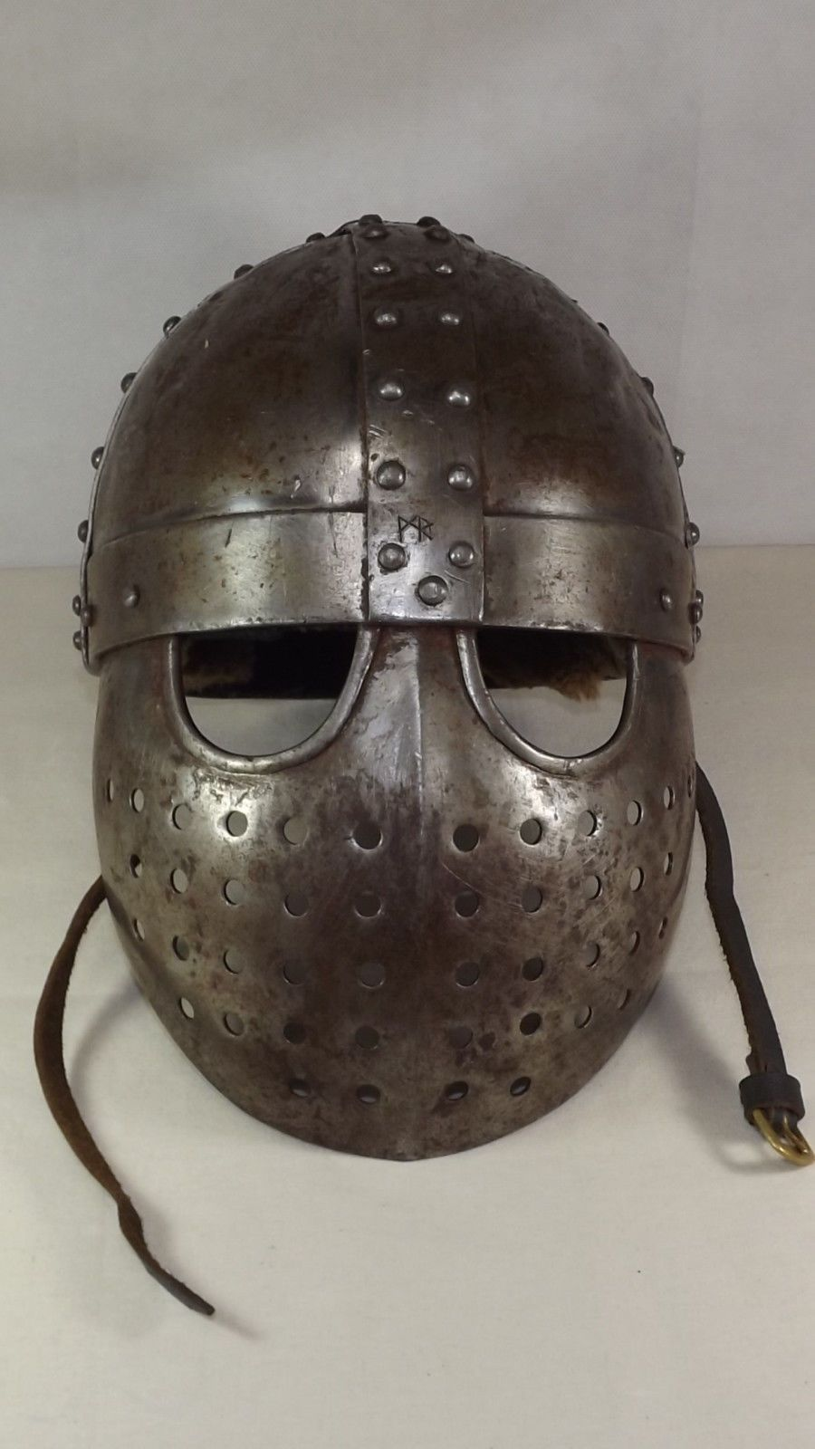 Vintage Hand Forged Iron Medieval Knight Viking Norman ...