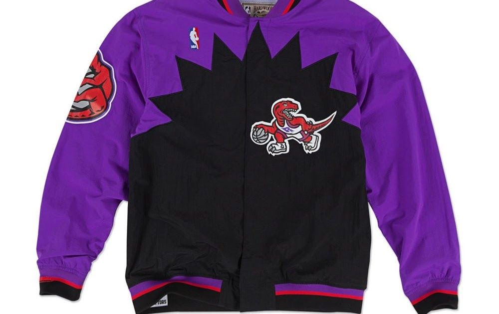 5af7074c3d85 Men s NBA Mitchell   Ness Jacket - Authentic Warm Up - 1995 Toronto Raptors