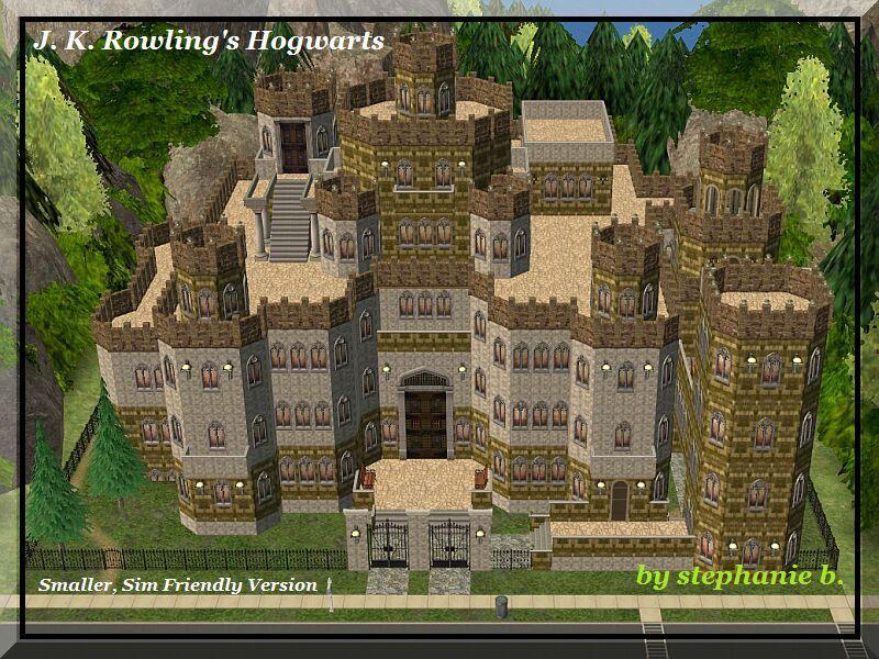 Hogwarts Castle Floor Plan Harry Potter Collection J K