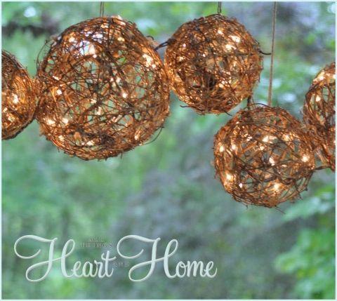 Easy DIY Outdoor Chandelier Outdoor chandelier, Chandeliers and Patios