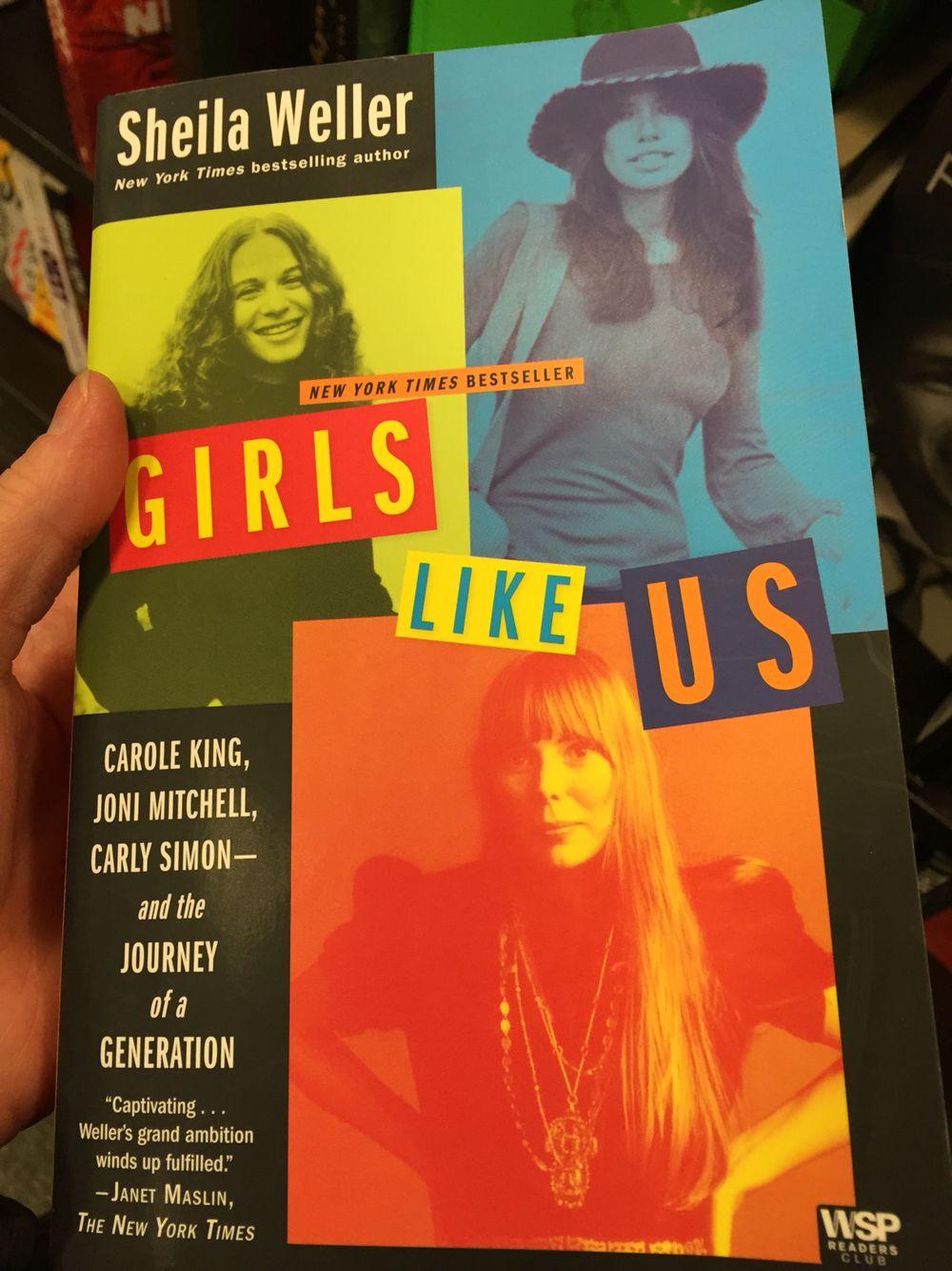 Girls like us Bestselling author, Movie tickets, Carly simon