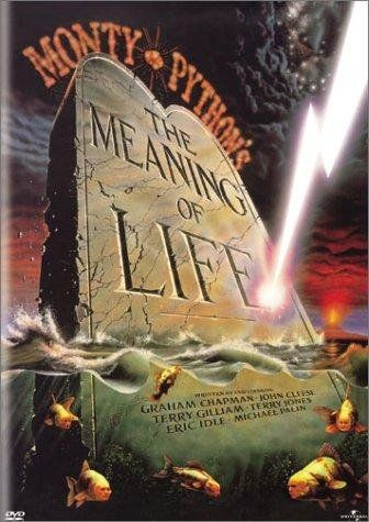 The Meaning of Life (1983)~ so remember when your feeling very small and insecure / how amazingly unlikely is your birth / and pray that there intelligent life somewhere up in space / cause theres bugger all down here on Earth.