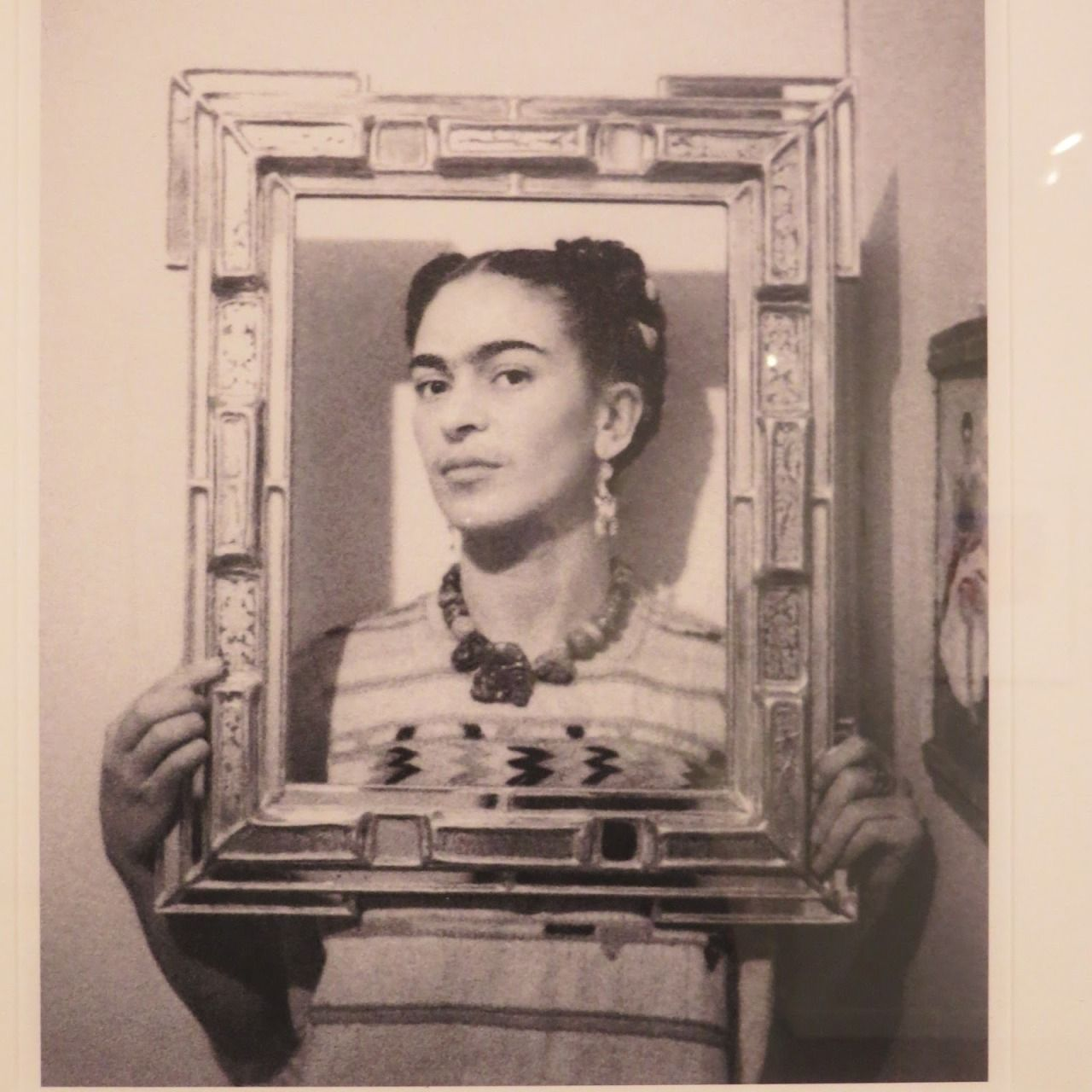 Nickolas Muray Frida With Picture Frame On Self