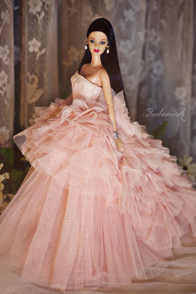 pink wedding gown | Barbie Beautiful Pink Gowns | Pinterest | Pink ...