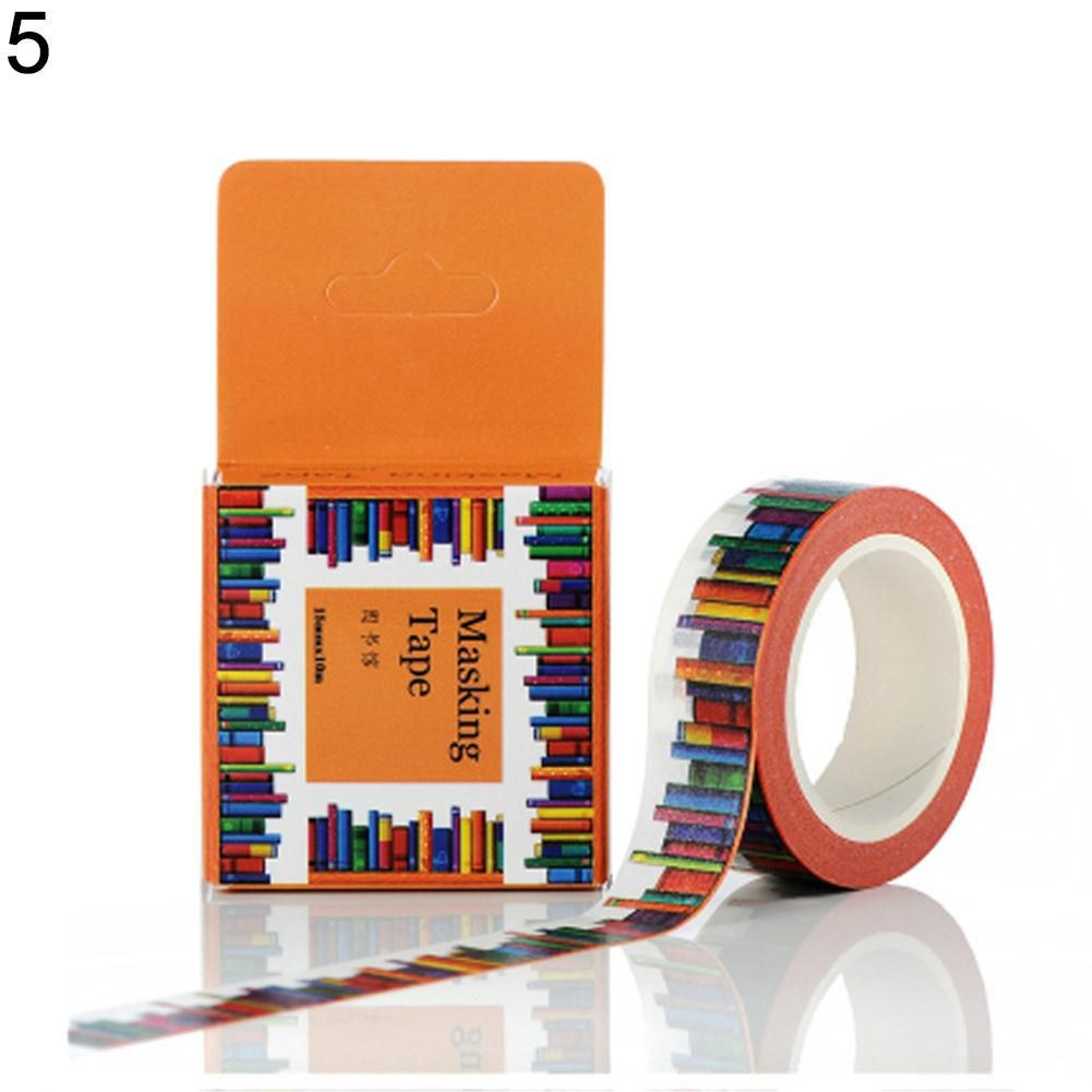 Photo of Cute Cartoon Washi Tape Decorative Paper Masking Tape DIY Scrapbooking Sticker – as the picture n