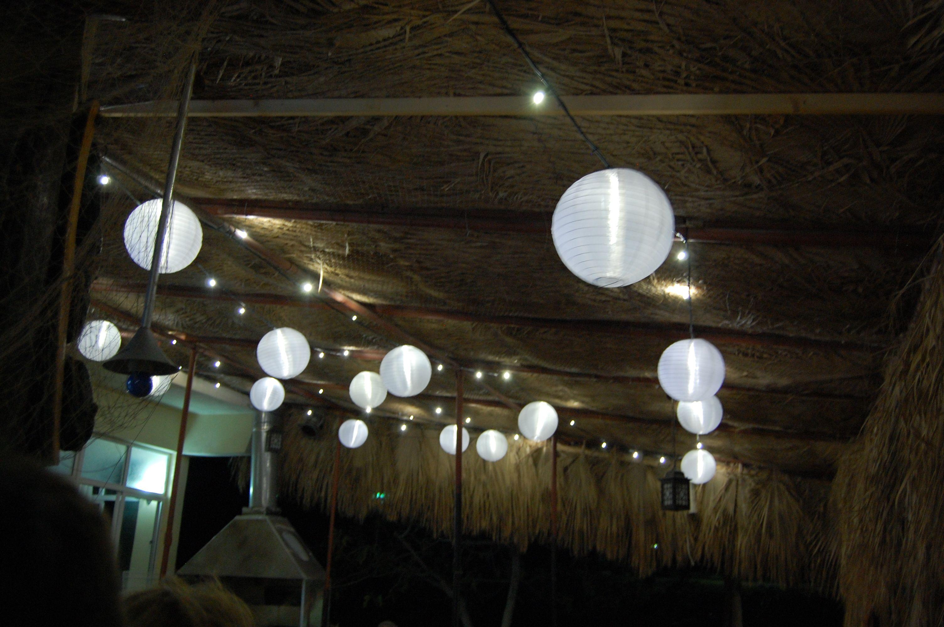 Bar And Restaurant Lantern Canopy