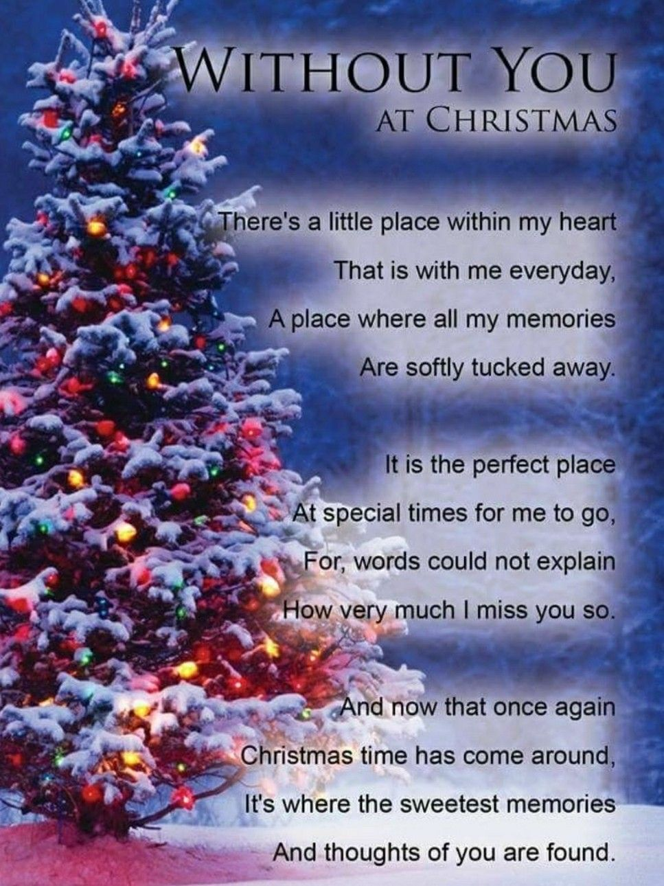 Missing Dad At Christmas.Without You For Christmas Missing Dad Christmas In
