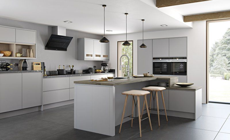 Strada Matte | Contemporary Kitchens | Modern Design | Small Kitchen ...