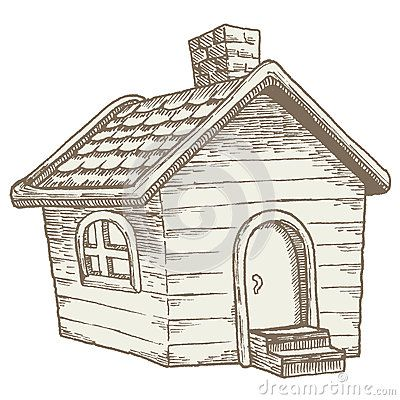 Cartoon Shed Stock Photos Images Pictures 156 Images Page 2 Cartoon House Vintage Illustration Stock Photos