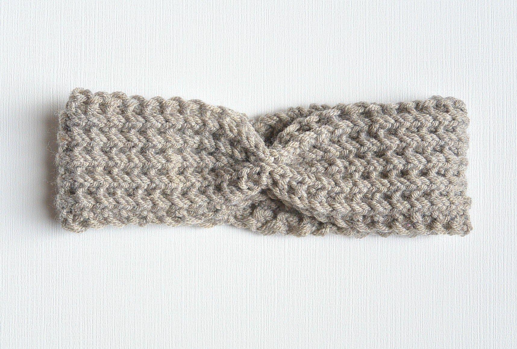Half Fisherman Knit Headband & Downton Abbey Yarn | Knit ...