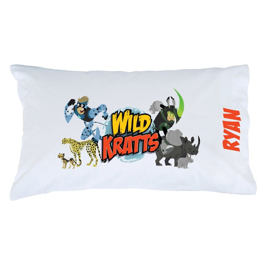 Wild Kratts Bedroom Personalized Pillow Cases Pillow