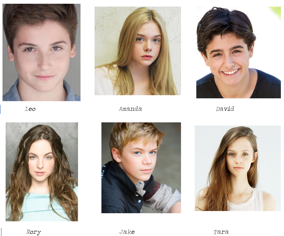 The Characters In The Willow Falls Series As I Imagine Them