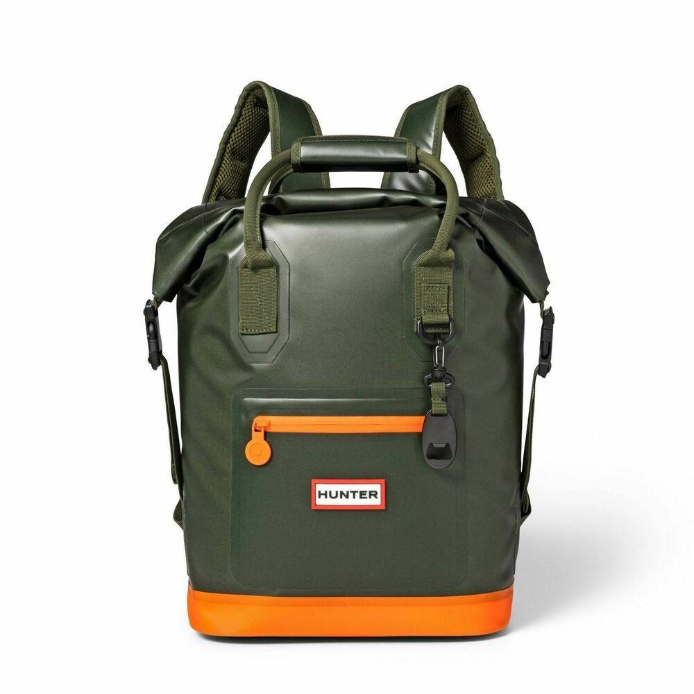 17l Backpack Cooler Olive Orange Hunter For Target Hunterfortarget Backpack Cool Backpacks Weekend Backpack Bags