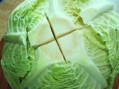 Photo of Cream savoy cabbage as grandma made it