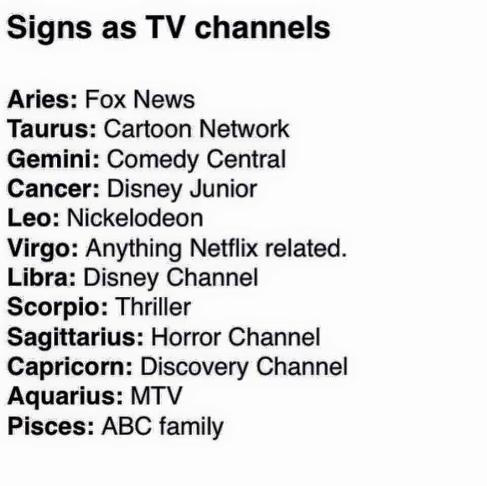 Abc Horoscopo Libra Signs As Tv Channels Zodiac Zodiac Signs Zodiac Signs