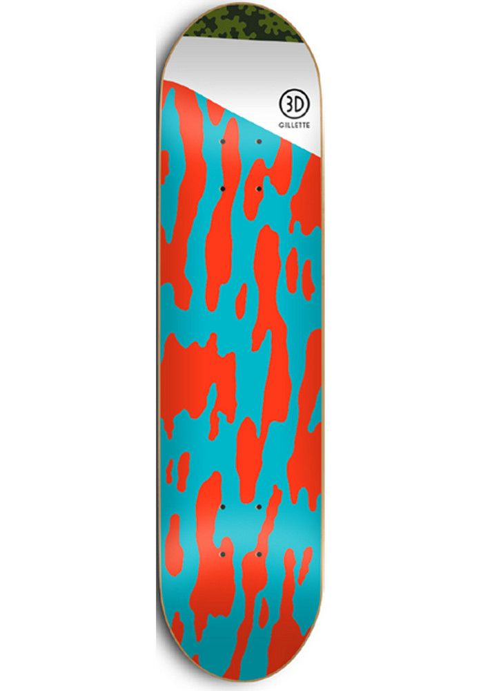 3D Gillette-Crop - titus-shop.com  #Deck #Skateboard #titus #titusskateshop