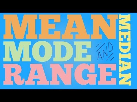 Range Median Mode: 24 Quick, Free Activities and Resources   Maths ...