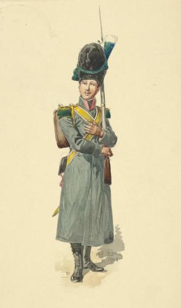 buy popular ec71f 99c36 Velite napoli cappotto - Esercito del Regno di Napoli (1806 ...