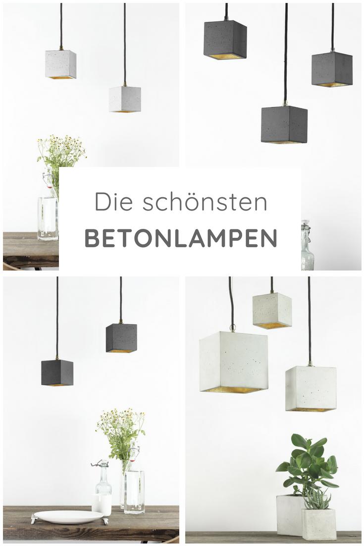 Betonlampe Im Modernen Design Jetzt Online Kaufen In 2019