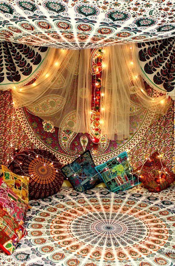 Moksha Large Mandala Tapestry