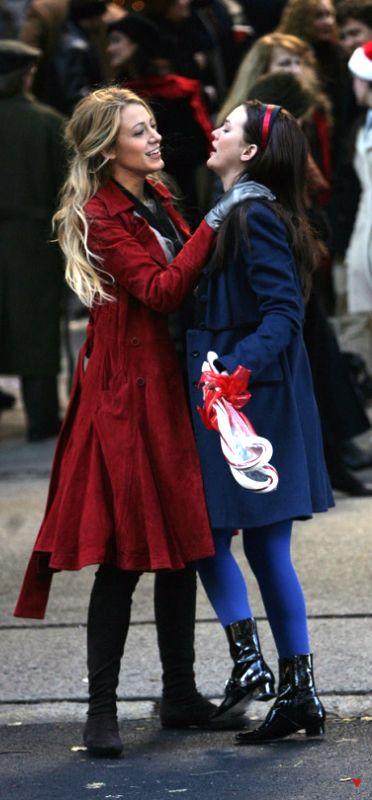 7a4a1543f1a2 Blair Waldorf ♥ Serena van der Woodsen ♥ Gossip Girl