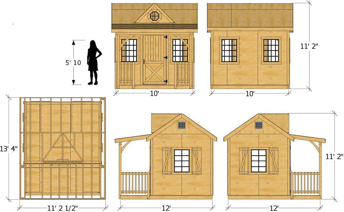 10x12 Loretta Shed Plan In 2018 All About Sheds Pinterest Shed